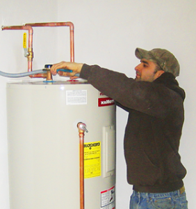 Our Downey water heater repair team installs new heaters
